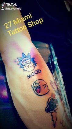 #tattoo #blackligthtattoo #befamous #miami #love Miami Tattoo, Miami Florida, Tattoo Shop, Tattoos, Tatuajes, Tattoo, Tattos, Tattoo Designs