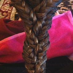 Triple fishtail braid is amazing...