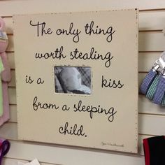 I Love this!  My kids are 19 and 14 and I still steal kisses.