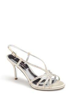 Nina+'Bobbie'+Crystal+Embellished+Sandal+available+at+#Nordstrom