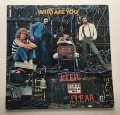 THE WHO WHO ARE YOU VINYL 1978 MCA RECORDS FREE SHIPPING LP MCA-3050 #Rock