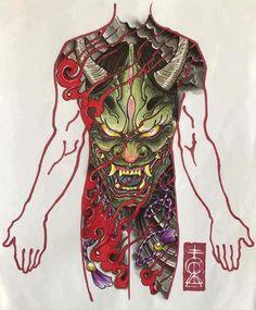 Vagina demon tattoo