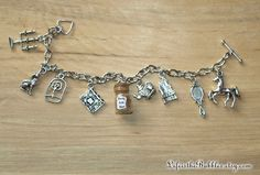 Beauty and the Beast Magical Charm Bracelet, Your Choice of Magic- Be Our Guest, Beauty & the Beast, Disney Inspired, by Life is the Bubbles
