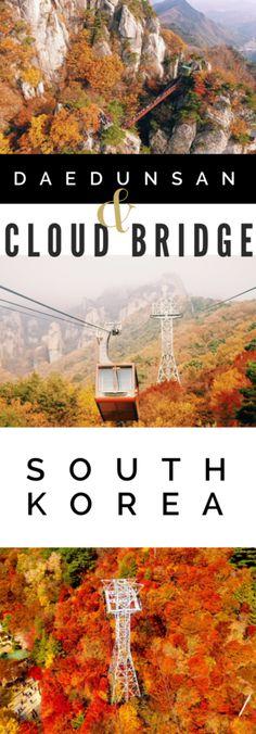 Browsing Category Autumn Daedunsan Cloud Bridge, Autumn in Korea Autumn Daedunsan South Korea Daedunsan Mountain & the Cloud Bridge: a South Korea Fall Colors Guide
