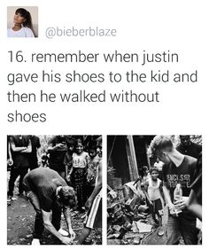 But yet haters say he's selfish and only cares about himself
