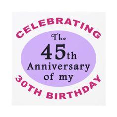 Funny 75th Birthday Gag Gifts Custom Invitation by birthdaygifts