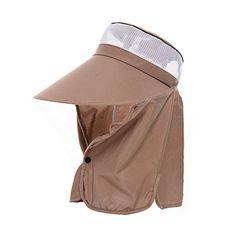 Jemis Women Hiking Fishing Outdoor Big Wide Brim Face Neck Cover Flap Sun Hat Cap (Khaki) Jemis http://www.amazon.com/dp/B011IYIHYM/ref=cm_sw_r_pi_dp_63r4vb12N4BGH