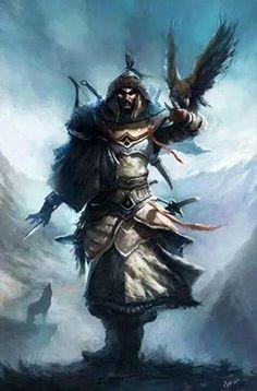 ini dize getiren b y k Hun imparatoru METE HAN Fantasy World, Fantasy Art, Character Art, Character Design, The Elder Scrolls, Fantasy Warrior, Archery, Fantasy Characters, Egyptian