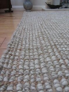 Chunky Wool Jute Rug Grey Google Search