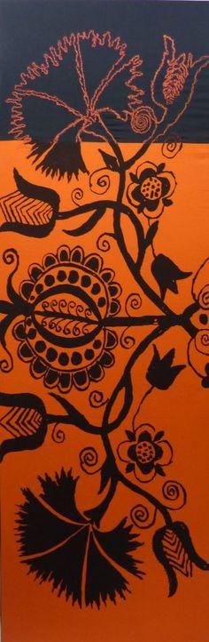 Marimekko Reprise In Orange: Wendy Feldberg, designer