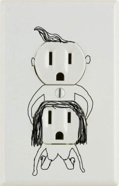 collegehumor: Erotic Outlets There was a spark between them.  #lol
