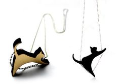 CatWalk Cat-inspired Jewelry Collection by Jacqi Chew