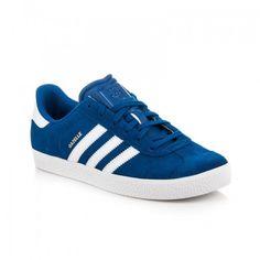 Dámské tenisky ADIDAS GAZELLE 2 J modré – modrá Sportovní tenisky ADIDAS  jsou velmi oblíbené díky 09460e05bf3