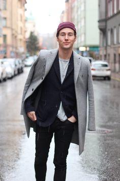 Saturday 8 | Tobias Sikström  #fashion #streetstyle #swedish #blogger #TobiasSikstrom #HM #Reiss #COS #BLKDNM