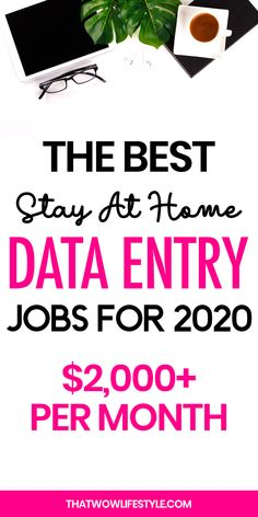 Job Discover The Best Stay At Home Data Entry Jobs For 2020 Are you keen to make some money online from home? I have for you 10 of the best data-entry jobs from legit companies to make a living online. Online Business From Home, Online Jobs From Home, Online Work, Earn Money From Home, Earn Money Online, Way To Make Money, Work From Home Opportunities, Work From Home Tips, Best Online Jobs