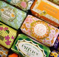 Portuguese soaps ---> I know some girls that are getting these as stocking stuffers. And by stocking stuffers I mean package stuffers. :3