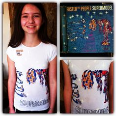 Foster the People fan lol Foster The People, The Fosters, Supermodels, Daughter, T Shirts For Women, Fan, Artist, Fashion, Moda