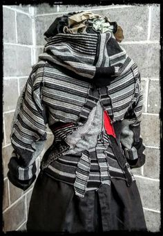 Based in Leaburg Oregon, Ethyria sells women clothing aimed at making all women feel magical and irresistible through carefully crafted hand stiched clothing. Slow Design, Black And Grey, Gray, Black Sweaters, Clothes For Women, Classic, Fashion, Grey, Outfits For Women
