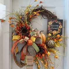 Thanksgiving Wreaths, Fall Wreaths, Fall Designs, Magic, Home Decor, Ideas, Decoration Home, Room Decor, Home Interior Design