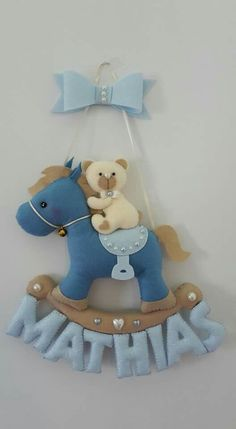 Fofura... | Teddy Bear On a Horse