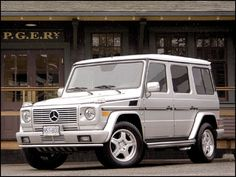2007 Mercedes-Benz G-Class Pictures: See 119 pics for 2007 Mercedes-Benz G-Class. Browse interior and exterior photos for 2007 Mercedes-Benz G-Class. Mercedes G Wagen, Mercedes Benz G500, Mercedes Jeep, Mercedes Benz G Class, White G Wagon, My Dream Car, Dream Cars, G Wagon Amg, Vintage Car Nursery