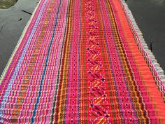 VINTAGE Hmong Textile   Embroidery Hmong Fabric  Ethnic