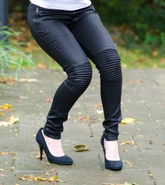 LOVE these jeans! A little bit edgy but still flattering and fit for a night on the town :)