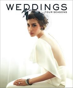 Four Seasons Weddings magazine cover art from 2012 #FourSeasons #weddings #magazine