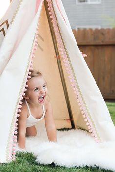 Tepees para niños y no tan niños | Decorar tu casa es facilisimo.com
