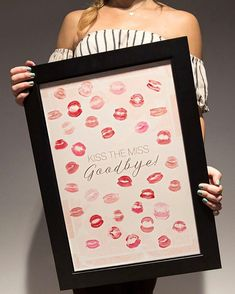 "144 Likes, 12 Comments - SomethingTurquoise.com (@something_turquoise) on Instagram: ""We have the PERFECT guestbook idea for your bridal shower or bachelorette party... this…"""
