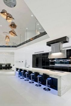 Trying to find luxury kitchen design inspiration? Examine out our top 63 preferred instances of seriously stylish luxury kitchen areas and also special. Luxury Kitchen Design, Dream Home Design, Luxury Kitchens, Modern House Design, Custom Kitchens, Dream House Interior, Luxury Homes Dream Houses, Modern Interior, Home Interior Design