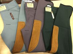 Tailored Sportsman Girl's Vintage Trophy Low Rise Front Zip Breeches – 3960