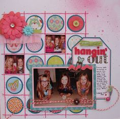 Grids challenge at Frosted Designs