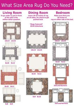 22 best rug size guide images texture groomsmen block prints rh pinterest com
