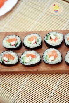 Sushi przepis Sushi, Foods To Eat, Ethnic Recipes