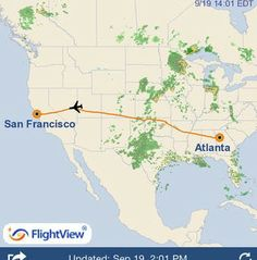 FlightView Free App