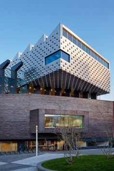 Cultural Centre and Library 'Eemcentrum' :: Neutelings Riedijk Architects