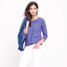Saint James® Galathée tee - long-sleeve tees - Women's knits & tees - J.Crew