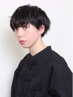 クリア(CLEAR) マッシュショート Boy Hairstyles, Short Hairstyles For Women, Hair Inspo, Hair Inspiration, Medium Hair Styles, Short Hair Styles, Hair Fixing, Short Hair Cuts, Curly Short