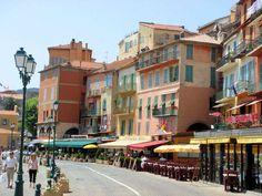 Promenade ~ Villefranche sur Mer Oh, those wonderful doorless restaurants. Monaco, Nice France, South Of France, Provence, Saint Martin Vesubie, Cagnes Sur Mer, Cap D Antibes, Juan Les Pins, Villefranche Sur Mer