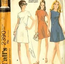 I can't sew at all, but I love looking at old sewing patterns...