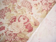 chintz fabric-nice soft colors but intense and rich depth and detail.