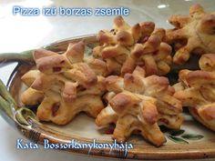 Pizza ízű borzas zsemle (Gluténmentesen is)