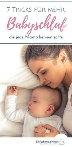 7 Tricks für mehr Babyschlaf, die jede Mama kennen sollte Baby sleep is often highly competitive and causes many question marks. Here I show you tips and tricks about sleeping, which every mom should know. Baby Health, Kids Health, Children Health, Health Tips, Breastfeeding Techniques, California Baby, Baby Arrival, Parenting Teens, Twin Babies