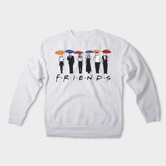 Friends sweatshirt Friends tv show shirt Friends tv show sweatshirt How you doin sweater I will be there for you 90th tv show 007 by GuruOutfit on Etsy https://www.etsy.com/listing/500489015/friends-sweatshirt-friends-tv-show-shirt