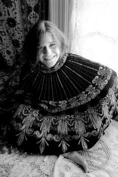 Baron Wolman.Janis Joplin inCape, Athome inthe Haight-Ashbury, San Francisco, CA, 1967.