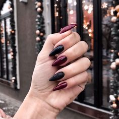 33 Gorgeous fall nail art design Ideas that perfect for any occasion - autumn na. - 33 Gorgeous fall nail art design Ideas that perfect for any occasion – autumn nails - Cute Nails, Pretty Nails, Hair And Nails, My Nails, Black And Purple Nails, Nail Black, Black Toe, Nagel Blog, Fall Nail Art Designs