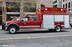 ◆San Francisco Fire Department Mass Casualty Unit◆