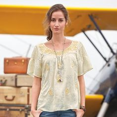 Days Gone By Tunic in Spring 2013 from Sundance on shop.CatalogSpree.com, my personal digital mall.