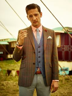 Ted Baker SS14 Lookbook - Get in on the Act